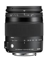Sigma Contemporary, 18-200mm F3.5-6.3 DC MACRO HSM