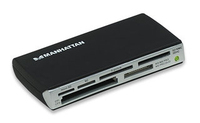 Manhattan Multi-Card Reader/Writer (Schwarz)