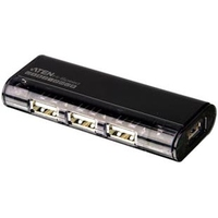 Aten 4-Port USB 2.0 HUB (Schwarz)