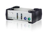 Aten CS82A Tastatur/Video/Maus (KVM) Switch (Silber)