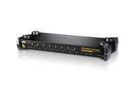 Aten CS1758 Tastatur/Video/Maus (KVM) Switch (Weiß)