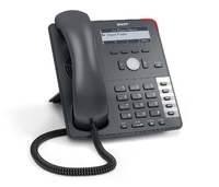 Snom 715 4Zeilen Wired handset Anthrazit (Anthrazit)