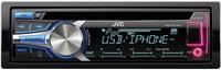 JVC KD-R751E Auto-CD/DVD Tuner (Schwarz)