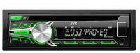JVC KD-R453E Auto-CD/DVD Tuner (Schwarz)