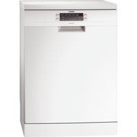 AEG F66709W0P Semi built-in 15places A+++ White (Weiß)