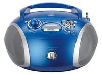 Grundig RCD 1445 USB (Blau, Silber)