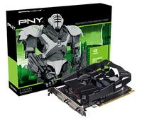 PNY GF750IGTX2GEPB NVIDIA GeForce GTX 750 Ti 2GB Grafikkarte (Schwarz)