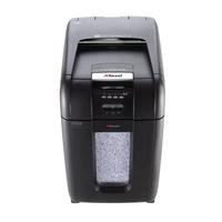 Rexel Auto+ 300M Aktenvernichter Mikroschnitt (Schwarz)