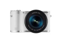 Samsung NX NX300M + 18-55 OIS i-Function + SEF-8A (Weiß)