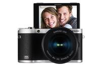 Samsung NX NX300M + 18-55 OIS i-Function + SEF-8A (Schwarz)