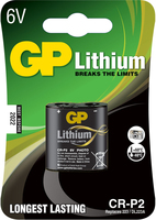 GP Batteries Lithium CRP-2 (Schwarz)