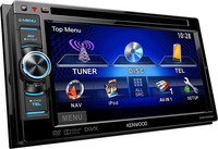 Kenwood Electronics DDX4025BT Auto-CD/DVD Tuner (Schwarz)