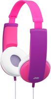JVC HA-KD5-P-E Violett ohrumschließend Kopfband Kopfhörer (Pink, Violett)
