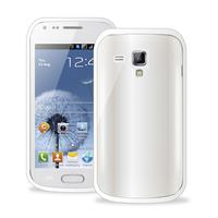 PURO SGS7562CLEARWHI Handy-Schutzhülle (Weiß)