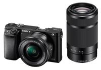 Sony α ILCE-6000Y (Schwarz)