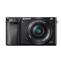 Sony α ILCE-6000L (Schwarz)