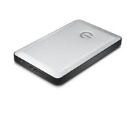 G-Technology G-DRIVE mobile USB (Schwarz, Silber)