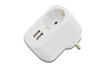 Ednet 31804 Ladegeräte für Mobilgerät (Weiß)