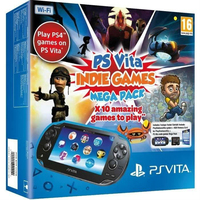 Sony PS Vita WiFi - Indie Games Mega Pack (Schwarz)