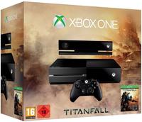 Microsoft Xbox One + Titanfall (Schwarz)