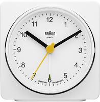 Braun BNC011 Quartz table clock Rechteckig Weiß (Weiß)