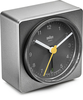 Braun BNC011 Quartz table clock Rechteckig Grau (Grau)
