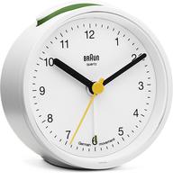 Braun BNC012 Quartz table clock Rund Weiß (Weiß)
