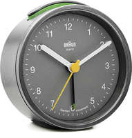 Braun BNC012 Quartz table clock Rund Grau (Grau)