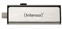 Intenso Mobile Line 32GB USB2.0 32GB USB 2.0 Silber USB-Stick (Silber)