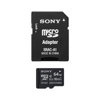 Sony SR64UXA Micro SD-Speicherkarte (64 GB) und Adapter