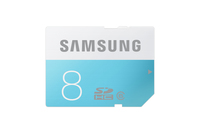 Samsung 8GB, SDHC Standard (Blau, Weiß)