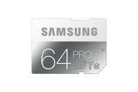 Samsung 64GB, SDXC, Pro (Grau, Weiß)