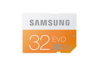 Samsung 32GB, SDHC EVO (Orange, Weiß)
