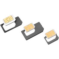 ISY ISA 1200 SIM-/Speicher-Karten-Adapter (Schwarz)