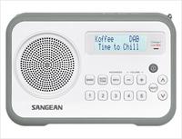 Sangean DPR-67 (Grau, Weiß)