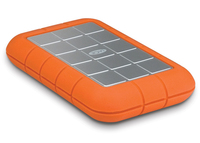 LaCie Rugged Triple USB 3.0, 2TB (Aluminium, Orange)