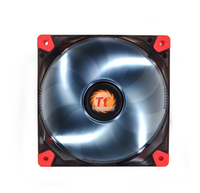 Thermaltake Luna 12 LED White (Schwarz, Rot, Transparent)