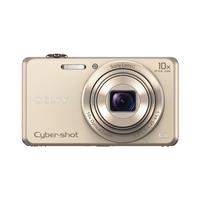 Sony Cyber-shot WX220 Kompaktkamera mit optischem 10fach-Zoom (Gold)