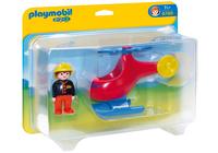 Playmobil 6789 - Feuerwehrheli (Mehrfarbig)