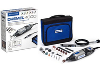 Dremel 4000 (4000-1/45) 35000RPM 175W Schwarz, Grau Elektrisches Multi-Tool (Schwarz, Grau)