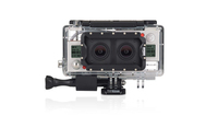 GoPro AHD3D-301 Unterwasserkameragehaeuse (Transparent)