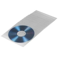 Hama CD-ROM/DVD-ROM Protective Sleeves 50 (Transparent)