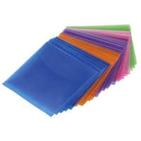 Hama CD-ROM/DVD-ROM Protective Sleeves 100 (Mehrfarbig)