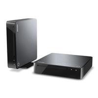 Toshiba BDX4500KE Blu-Rayspieler/-rekorder (Schwarz, Silber)