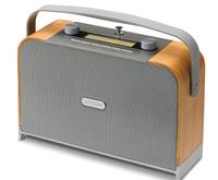Roberts Radio Expression (Grau, Holz)