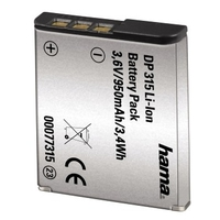 Hama Info Chip Li-Ion Battery DP 315 (Grau)