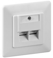 Wentronic 68246 Flat Panel Wandhalter (Weiß)