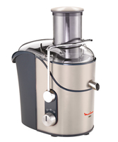 Moulinex JU655H10 Citrus-/Saftpress (Grau, Silber)