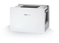 Grundig TA 7280 W Toaster (Edelstahl, Weiß)