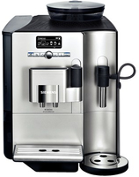 Siemens TE712501DE Kaffeemaschine (Schwarz, Silber)